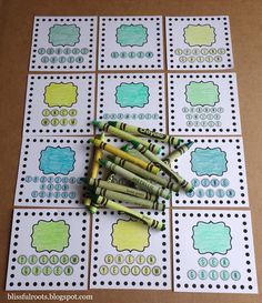 I recently adopted several boxes of craft items from my cute neighbor, Millie. Inside one of the boxes was a pack of Crayola crayons (96 ...