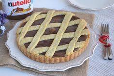 » Crostata alla nutella Ricette di Misya - Ricetta Crostata alla nutella di Misya