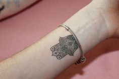 ... tattoo on wrist tattoo hamsa