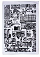 MELBOURNESTYLE   new tea Towels featuring Melbourne buildings drawings by Maree Coote