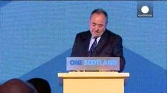 Alex Salmond admite su derrota en el histórico referéndum independentista de Escocia