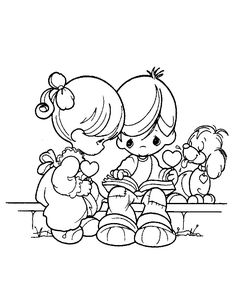 best precious moments coloring pages to print for free - Coloring