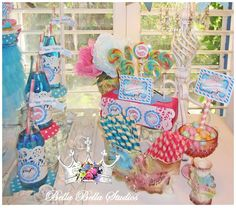 Carousel ~ Carnival Birthday Party Ideas | Photo 1 of 25 | Catch My Party