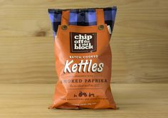 Sometimes there's just nothing better than a bag of perfectly salted,  crispy and crunchy potato chips. Chip Off The Old Block really ups the game  for potato chips out there, offering their thick sliced, flat cut, and  batch cooked kettle chips for generations.