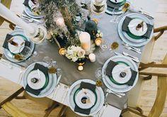 2014 Wedding Trends | Gray Weddings | Gray Wedding Inspiration | Gray Wedding Table | Wedding Table Decor