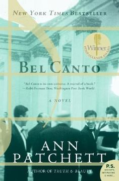 Sue recommends Bel Canto by Ann Patchett
