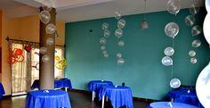 "Fiesta temática ""fondo del mar""  balloons / globos"