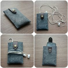 iPod holder tutorial - maybe it won't get scratched so badly using this.
