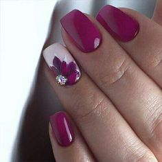 The best flower nail art designs - 100 images - # check more at nag . - The best flower nail art designs – 100 images – # Check more at nageldesing. Gel Designs, Cute Nail Designs, Nail Art Flowers Designs, Flower Design Nails, Creative Nail Designs, Nail Designs Spring, Beautiful Nail Art, Gorgeous Nails, Amazing Nails