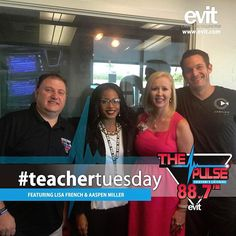 #EVIT #Cosmetology instructor Mrs. French & first-year student Aaspen Miller were on @pulseradioaz's #TeacherTuesday! Listen to the interview on soundcloud.com/evitnews. #WeAreEVIT