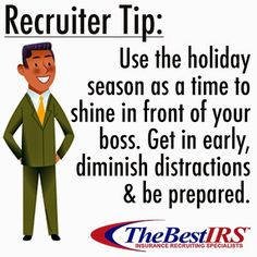 The #holidays are here. How are YOU using your time at the #office?