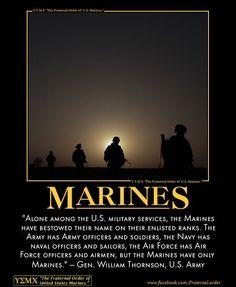 So very true. Marine Corps Quotes, Marine Corps Humor, Usmc Quotes, Military Quotes, Military Humor, Military Love, Us Marine Corps, True Quotes, Military History