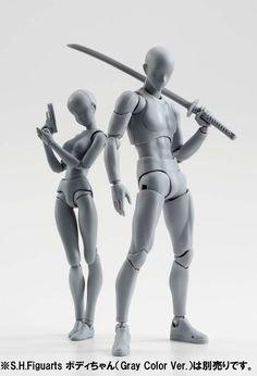 S.H. Figuarts Body-kun Gray Color Ver. | CollectionDX