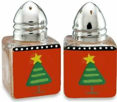 HuePhoria Noel Mini Salt and Pepper Shaker by huephoria. $12.00. Great gift under $20. Hand-painted. 11 designs to choose from. Indivially gift boxed, ready for gift-giving. Stainless stell caps. Accessorize your dinner table with HuePhoria's mini hand painted salt and pepper shakers with the many fun and colorful icons to choose from, the whole family is sure to enjoy them at every meal. and you would certainly spice things up at your next dinner party and m...