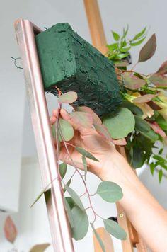 Make your own photobooth in blush and burgundy - elegant wedding part 3 Diy Wedding Decorations, Flower Decorations, Deco Floral, Floral Design, Elegant Wedding, Rustic Wedding, Flower Wall, Event Decor, Flower Designs