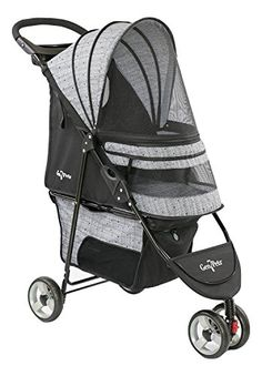 The Regal Plus Pet Stroller is ideal for taking your pet for a stroll when they can't keep up on their own. With swivel wheels, a handy storage basket and a folding canopy hood, this spacious stroller folds flat for easy storage. Cat Stroller, Jogging Stroller, Pet Dogs, Dog Cat, Pets, Large Dog Crate, Wireless Dog Fence, Cat Cages, Dog Car Seats
