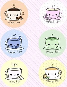 Cute tea cups