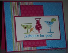 FireFly's Cards - Stampin' Up! Happy Hour