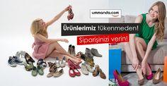 ummanda.com'da sepetine ürünleri ekleyerek #alışveriş yapanlar #indirim fırsatlarının keyfini doyasıya yaşıyor! Üstelik kargo da bizden! Ürünlerimiz tükenmeden siz de ummanda.com güvencesiyle şık ve kaliteli bir #ayakkabı sahibi olun!