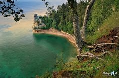 'Miners Castle' Pictured Rocks National Lakeshore.