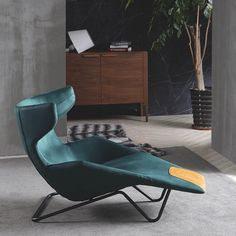 Chair Design Wooden, Furniture Design, Green Lounge, Womb Chair, Oversized Chair, Outdoor Lounge, Chair And Ottoman, Furniture Inspiration, Relax Chair