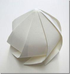 cool amazing 3d origami paper sculptures art (15)