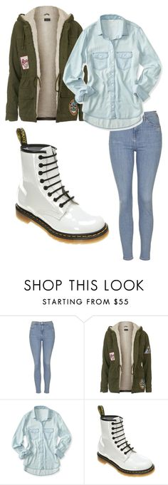 """""""Regulary Day"""" by juliodauntless on Polyvore featuring Topshop, Aéropostale, Dr. Martens, women's clothing, women, female, woman, misses and juniors"""