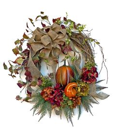 Harvest Fall Wreath for Door, Fall Decor, Autumn Wreath, Thanksgiving Decor, Autumn Decor, Outdoor Wreath,Front Door Wreath,Fall Door Wreath