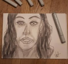Quick Sketch with Copic Markers in Grey Copic Marker Art, Copic Art, Copic Markers, Drawing Sketches, Sketching, Drawings, Quick Sketch, Doodles, Portrait