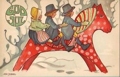 Postcard Collecting: A Hobby - Aina Stenberg a.k.a. Aina Stenberg MasOlle (1885-1975) Swedish artist