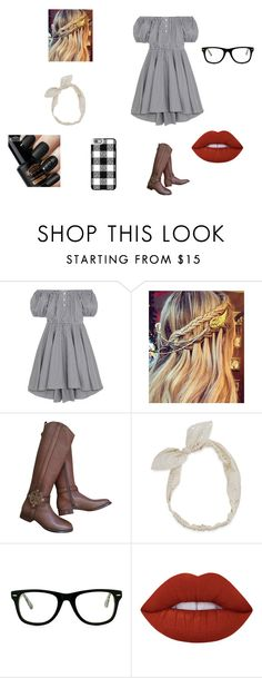 """""""Untitled #94"""" by abrooke2012 on Polyvore featuring Caroline Constas, Tory Burch, Carole, Muse, Lime Crime and Casetify"""