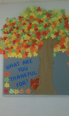 Pinned by: Laura Legant ? 51 weeks ago Thanksgiving Bulletin Board ideas: Adventures in Kindergarten November Bulletin Boards, Thanksgiving Bulletin Boards, Classroom Bulletin Boards, Thanksgiving Crafts, Fall Crafts, Classroom Decor, Crafts For Kids, Kindergarten Thanksgiving, Thanksgiving Decorations