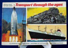 English Trading Cards Tea Card Album PG Tips Transport Thru Ages Brooke Bond Album Only 1966