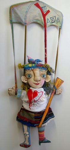 Yaga doll. Друзья, поздравляю с праздником всех Влюбленных. ЯГА вас любит!  #14февраля #деньвлюбленных #яга #Yaga #подарок #ручнаяработа #куклы #рукоделие #интернетмагазин #handmade #doll