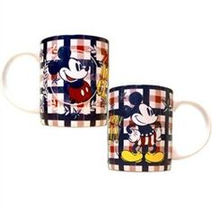 American Mickey Mouse Plaid Disney 11 Oz Mug @ niftywarehouse.com #NiftyWarehouse #Disney #DisneyMovies #Animated #Film #DisneyFilms #DisneyCartoons #Kids #Cartoons