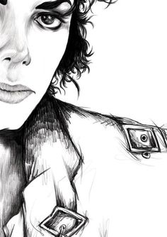 Michael Jackson Bad drawing.