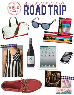 There is still time for a final Summer Road Trip. Don't forget these essentials! Labor Day Weekend!