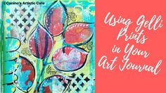 How to use your Gelli Prints in your art Journal - YouTube