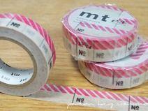 Masking Tape, Number pink