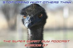 Stop Caring What People Think – Episode 37  http://supersmartguy.com/index.php/2015/10/22/stop-caring-what-people-think-episode-37/
