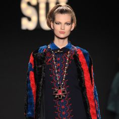 Anna Sui Fall 2013 French New Wave Cinema