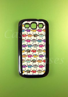 Samsung Galaxy S3 Cases - Cute Elephants. $14.99, via Etsy.