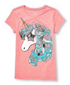 Unicorn castle Fantasy T Shirt Enfant Unisexe The Mountain