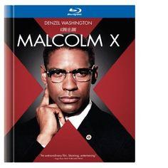 Malcolm X (Blu-ray Book) release)  Denzel Washington 5f9eae5ef35f