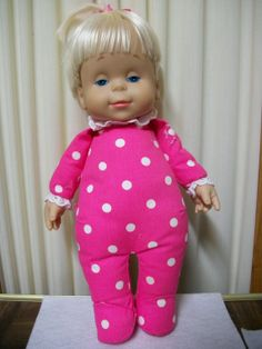 Drowsy Doll 14 Mattel 1984 Battery Operated Talking Doll by sassygranny