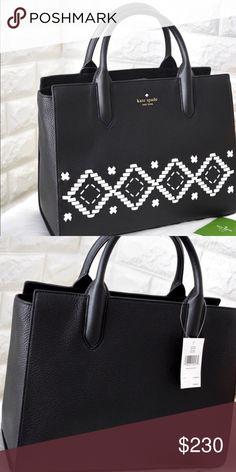 Kate Spade Bag Black with white details. kate spade Bags 273dac85fa390