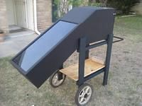 Solar Oven on wheels!  22 pictures of the construction process.