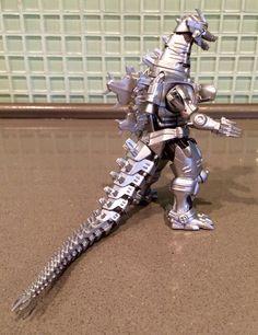 "BanDai Ultimate Monsters: Kiryu 'Absolute Zero' Version.  5"" tall."