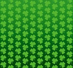 St Patricks Day Shamrocks Background
