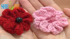 Knitting 7-Petal Flower Tutorial 3 Easy Knitting Patterns  We invite you to visit https://www.sheruknitting.com/ There are over 800 video tutorials of crochet and knitting in different techniques. Also, you can see unique authors' design in these tutorials only on a website at https://www.sheruknitting.com/  Enjoy all you get from a membership:1.No advertising on all tutorials 2.Valuable in different devices 3.Step by step and detailed video tutorials 4.New courses added every week